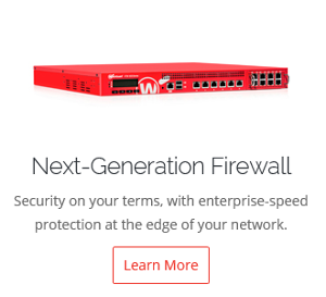 WatchGuard Next Generation Firewall page