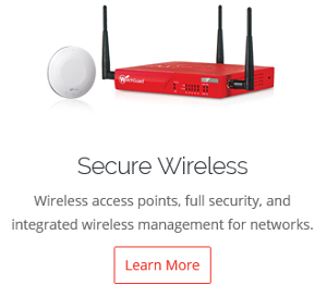 WatchGuard Secure Wireless Page